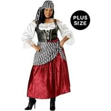 Dead Pirate Costume Halloween Swashbucklin Scarlet Women Pirate Costume Pirate Women