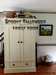 haunted halloween family room tour jersey in the south