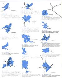 san jose light rail map historical maps rail transit in north america transit maps