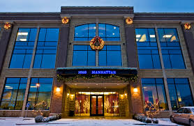 update your commercial building with dekra lite christmas decor