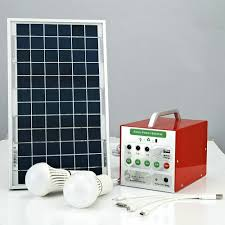 solar dc lighting system 40 hours lighting time best price 5w solar home lighting system with