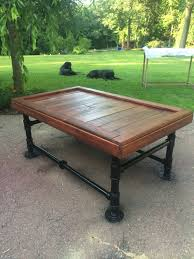Pipe Coffee Table by Items Similar To Black Iron Pipe Coffee Table On Etsy
