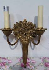 Electric Candle Sconce Victorian Style Candle Sconces Ebay