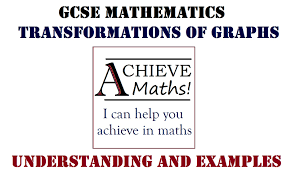 gcse maths transformations of graphs a a youtube