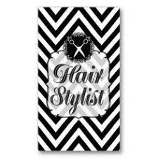 Salon Business Card Ideas Elegant Dark Silver Damask Hair Stylist Business Card Template