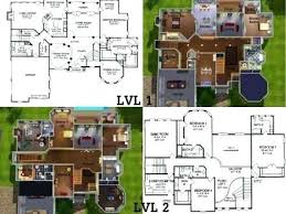 family home floor plans big family house plans sims 3 floor plans family homes zone big
