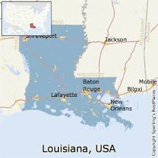 Cheapest States To Live In Usa Best Places To Live In Louisiana State