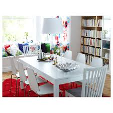 Ikea Dinner Table by Bjursta Extendable Table White 175 218 260x95 Cm Ikea