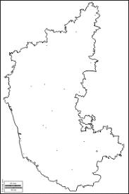 karnataka free maps free blank maps free outline maps free