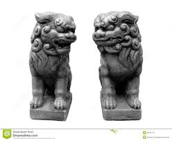 images of foo dogs foo dogs royalty free stock photo image 5879715