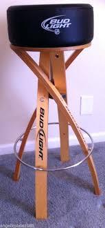 bud light bar light bud light bar stools wayfair intended for stool designs 20