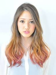 Ombre Long Japanese Hairstyles Celebrity Plastic Surgery Photos