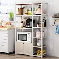 kitchen pantry storage cabinet microwave oven stand with storage maodatou kitchen workstation shelf kitchen baker s rack