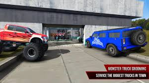 superheroes trucks car garage monster truck mechanic simulator game android apps on google play