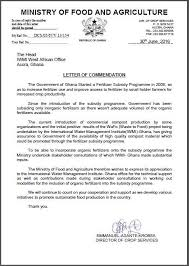 commendation from the government of ghana on iwmi and wle u0027s work