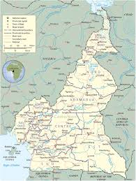 African Countries Map Map Of Cameroon Travel Africa