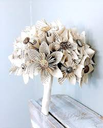 bouquets for wedding paper flower bouquets for weddings getneon co
