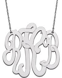 3 initial monogram fonts find the best savings on sterling silver 3 initial monogram