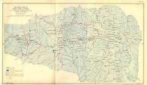 Himilayas Map Geography Of Himalayas Charts From 1933