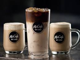 iced espresso macchiato mccafe new gourmet coffee at mcdonald u0027s business insider