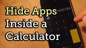 how to hide an app android hide apps on android within a seemingly calculator how