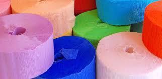 tissue paper streamers hello crepe paper streamers roseandmeyer
