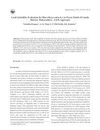 bureau ude g technique a gis based land use suitability pdf available