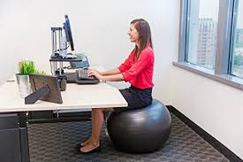 Exercise At Your Desk Equipment Amazon Com Cubefit Standing Desk Sit Or Stand With Free