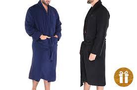 robe de chambre pour spa peignoir pour homme en molleton polaire 88 de rabais offert sur
