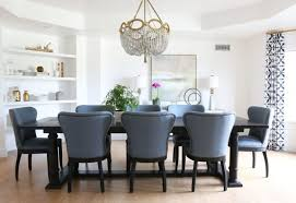 blue dining room furniture 9 modern wingback dining chairs making it lovely