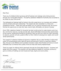 letter from habitat for humanity