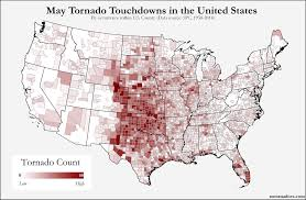 Map Of Oklahoma State by U S Tornado Map Archives U S Tornadoes