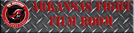arkansas fight film room razorback run game vs texas tech