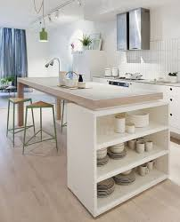 ilot central dans cuisine comment manger dans sa cuisine butcher blocks kitchens and diy