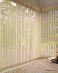 luminettes are a great alternative to vertical blinds for sliding