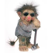 the troll garden ornament gnome with axe c co