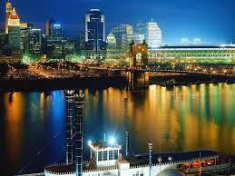 cincinnati ohio usa view of the city free cities and