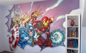 graffiti chambre avenger chambre jpg 780 480 детская and
