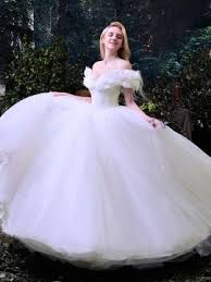 fairytale wedding dresses the shoulder ruffles cinderella white tulle gown wedding