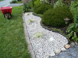 Simple Landscape Design by Simple Landscaping For Ranch Homes River Rock Google Search