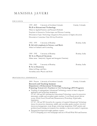 Sample Resume For Educators by Experience Resume Examples Best Resume Sample Sample Resume Esl