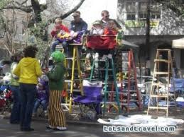 mardi gras ladders new orleans mardi gras with kids a survival guide for parents