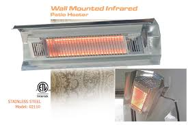 electric patio heaters infrared portable u0026 wall mount outdoor units
