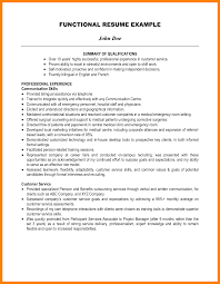 Resume Summary Of Qualifications Example Resume Summary Of Qualifications Examples Answered
