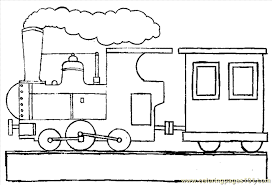 train coloring 07 coloring free land transport