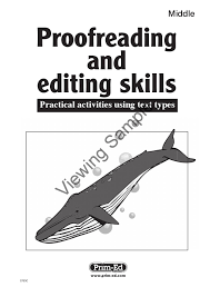 Editing And Proofreading Worksheets 0793 Proofreading And Editing Middle By Prim Ed Publishing Issuu