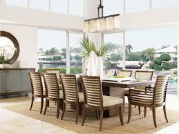 ocean club peninsula dining table lexington home brands