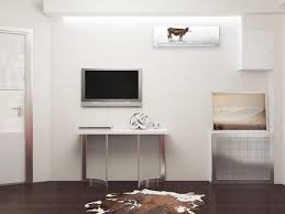 Wall Air Conditioner Cover Interior Designer Tips To Integrate Heat Pump And Air Conditioner Units