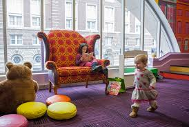 Toddler Floor Plan by Boston Public Library Unveils Renovated Second Floor
