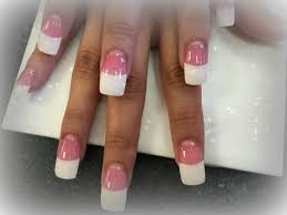 acrylic nails how to french tip nails youtube